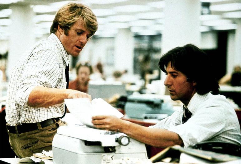 Les Hommes du Présidents (1976) avec Robert Redford et Dustin Hoffman