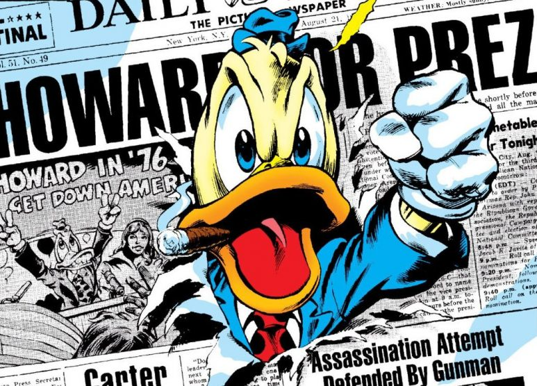 Howard the duck - Comics Marvel Steve Gerber